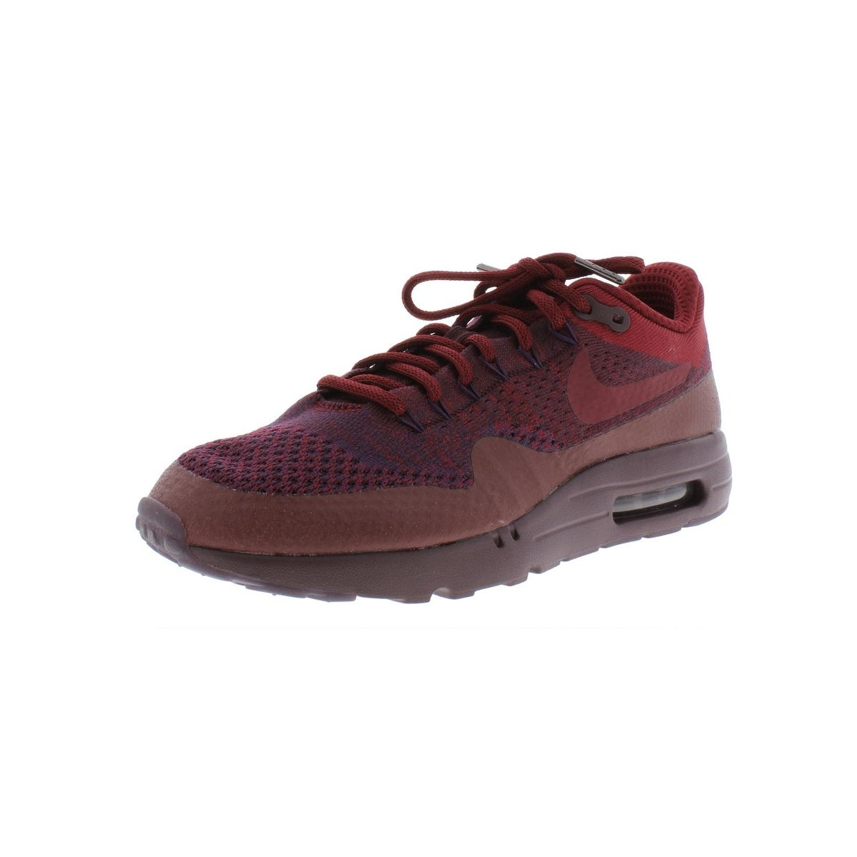 Nike Mens Air Max 1 Ultra Flyknit Athletic Shoes Knit Low Top