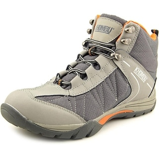 Khombu Hilary Round Toe Leather Hiking Shoe