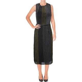 Guess Womens Maxi Dress Striped Sleeveless - 2
