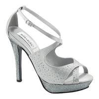 Dyeables Women's Sonya Silver Satin