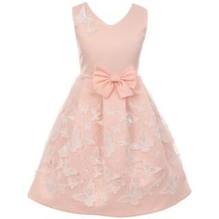 Sleeveless Easter Party Flower Girl Dress USA Blush JKS 2112