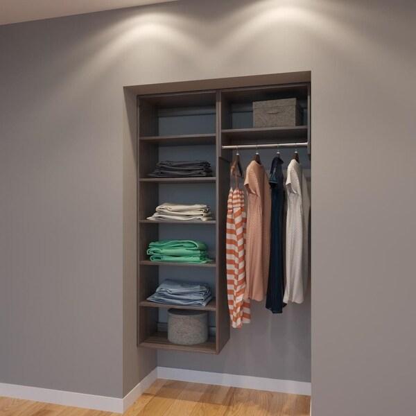 Shop Modular Closets 4 Ft Closet Organizer System 48