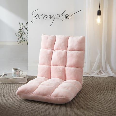 Urban Shop Tufted Adjustable Gaming Lounge Floor Chair