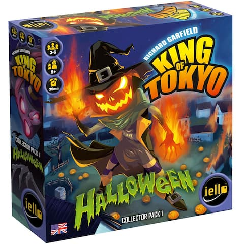 King of Tokyo Halloween Expansion Board Game - multi