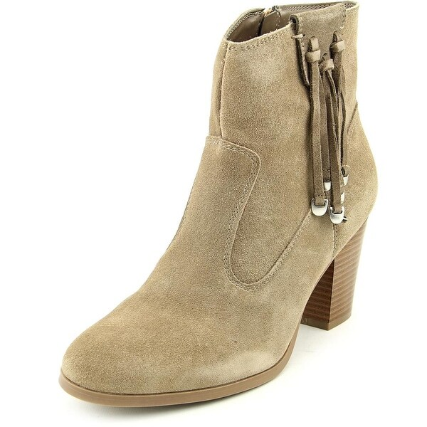 Bar III Jangle Women Round Toe Suede Ankle Boot
