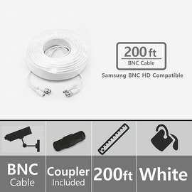 Soltech STS-AHDC200 200ft BNC Video/Power Cable