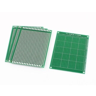 4Pcs 6cm x 8cm Electronic DIY Prototype Paper Single Side PCB Universal Board