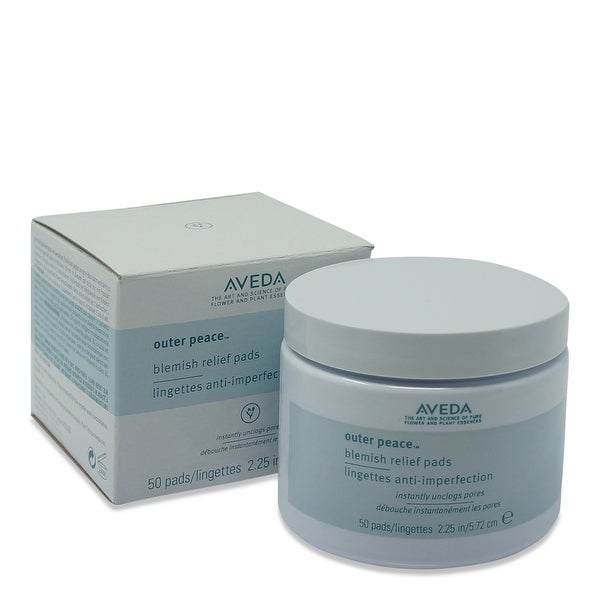 Aveda Outer Peace Acne Relief Pads - 50 Pads