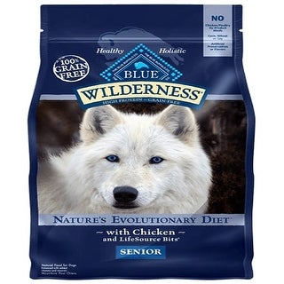 Link to Blue Buffalo Dog Wilderness  Grain-Free  Senior  11 Lbs. - 11 lbs Similar Items in Dog Food & Treats