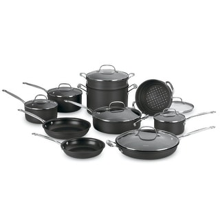 Link to Cuisinart 66-17 Chefs Classic Nonstick 17-piece Cookware Set Similar Items in Cookware