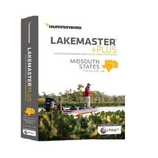 Lakemaster+ Maps, Mid-South States