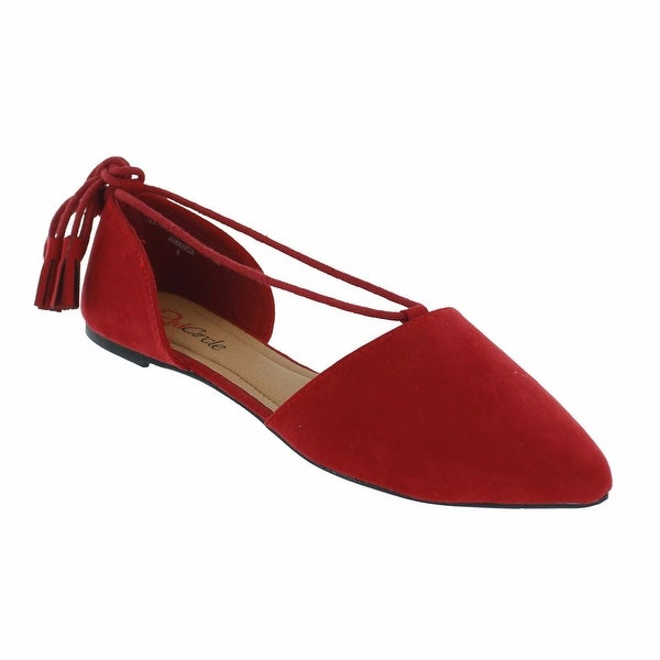 Red Circle Footwear 'Amanda' Pointy Flat
