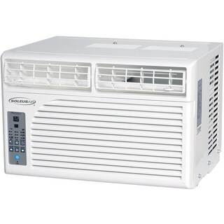 Soleus WS1-08E-01 8,500 BTU AC, Dehumidifier, and Fan - White