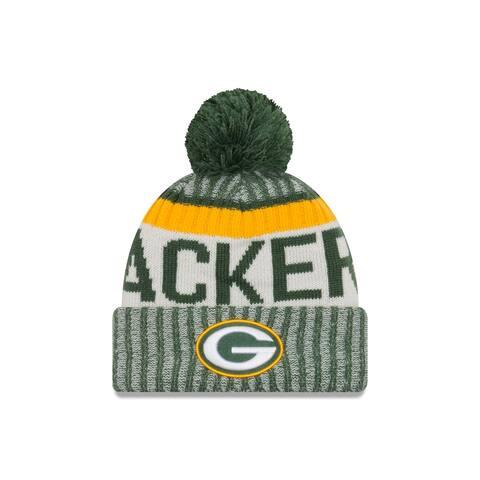 Green Bay Packers 2017 On-Field Green Sport Knit Beanie