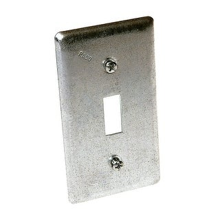 "Raco 865 Toggle Switch Utility Box Cover, 4-3/16"" L x 2-5/16"" W"