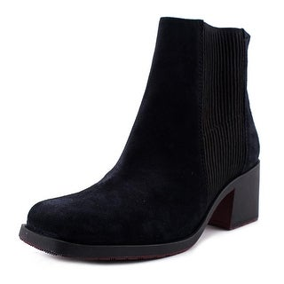 Naya Gang Women Square Toe Suede Ankle Boot