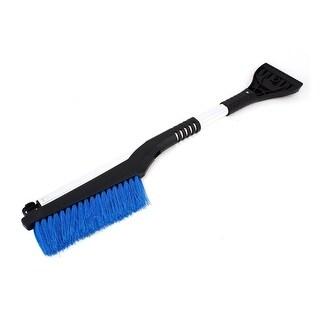 Nonslip Handle Retractable Door Windshield Ice Scraper Snow Brush Wiper Cleaner