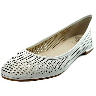 Vince Camuto Caya Round Toe Leather Flats