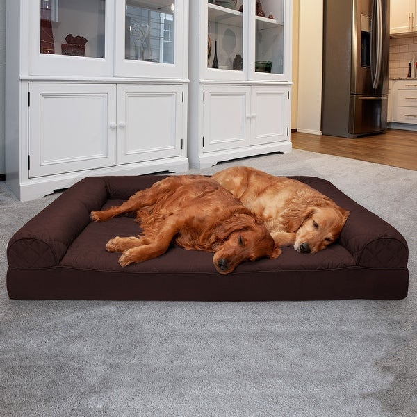 FurHaven Quilted Orthopedic Sofa Dog Bed. Opens flyout.