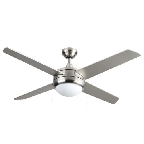 "Miseno MFAN-4001LED 50"" Energy Star Indoor Ceiling Fan - Includes 4 MDF Blades, Light Kit and Bulbs"