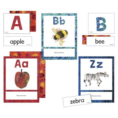 World of Eric Carle Alphabet Learning Cards