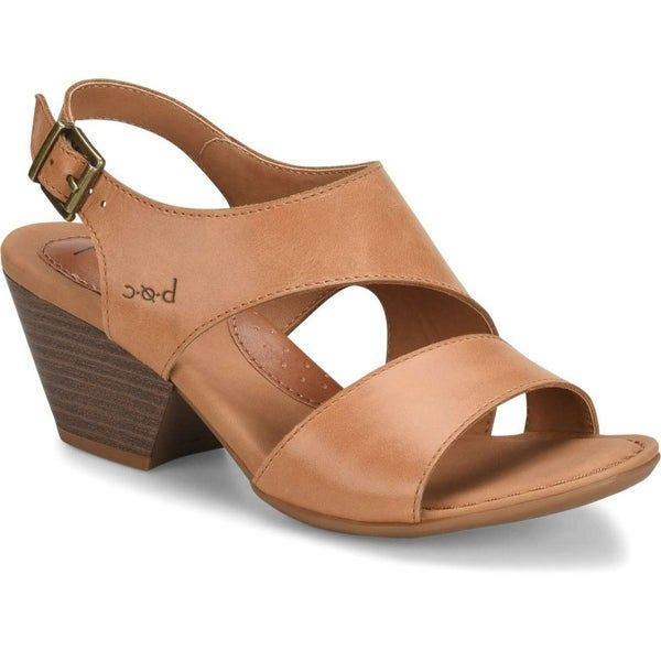 B.O.C Womens angula Leather Open Toe Casual Ankle Strap Sandals