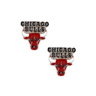 Chicago Bulls Post Stud Earring Set NBA Charm Gift