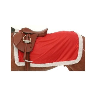 Gift Corral Quarter Sheet Girth Holder Tail String Red White