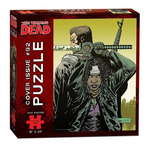 The Walking Dead Cover Art Issue #92 550-Piece Puzzle - multi