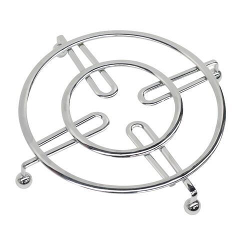 Home Basics Chrome Steel Trivet