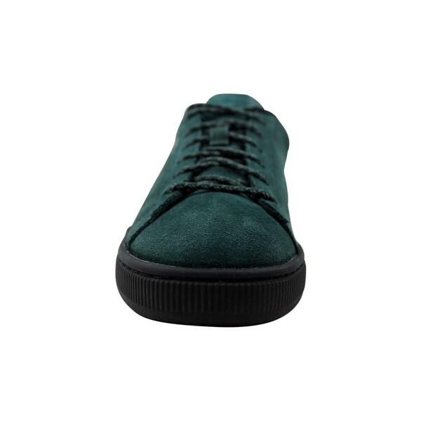 Shop Puma Suede Classic Watherproof Green Gables/Puma Black ...