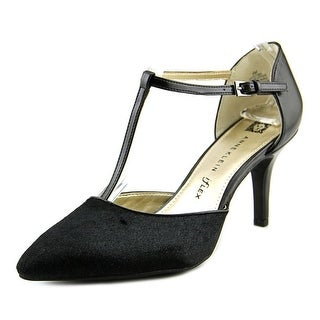 Anne Klein Yatima Pointed Toe Leather Heels
