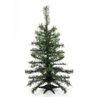 "2' x 10"" Canadian Pine Medium Artificial Christmas Tree - Unlit"
