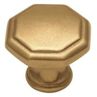 Hickory Hardware P14004 Conquest 1-1/8 Inch Diameter Geometric Cabinet Knob