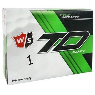 Wilson Staff TD Soft Golf Balls, (2 Dozen)