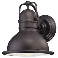Westinghouse 6204600 Orson LED Outdoor Wall Sconce with Clear Prismatic Lens - Oil Rubbed Bronze - N/A