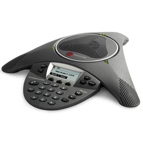 Polycom 2200-15600-001 SoundStation IP 6000 Conference Phone (POE)