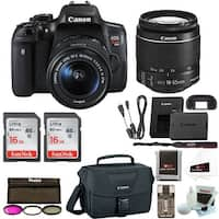 Canon Rebel T6i DSLR Camera w/ 18-55mm lens + Promotional Holiday Bundle
