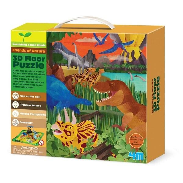 4M 3D Puzzle: Dinosaurs - multi