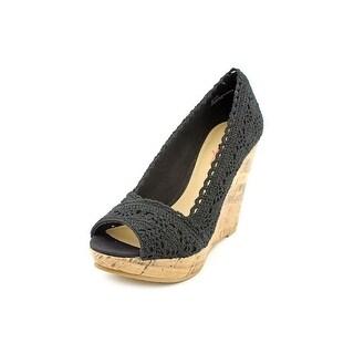 American Rag Laceyy Women Open Toe Synthetic Wedge Sandal