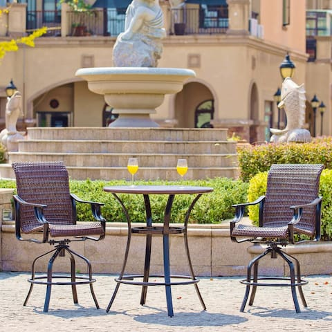 Outdoor Bistro Set by Direct Wicker