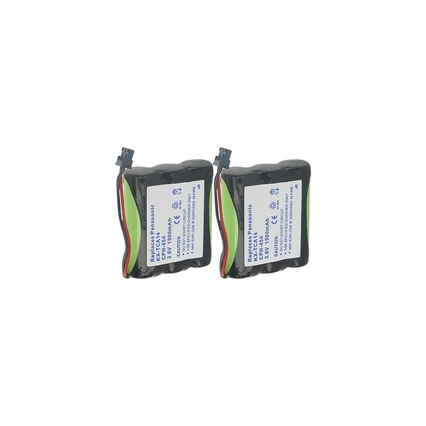 Replacement Panasonic KX-TC1484B NiMH Cordless Phone Battery - 1500mAh / 3.6v (2 Pack)