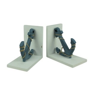 Link to Blue and White Nautical Anchor Bookends Similar Items in Desk Accessories