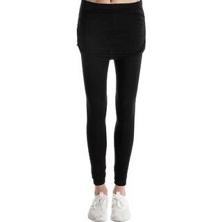 Splendid Womens Lounge Pants Stretch Fold-Over - S