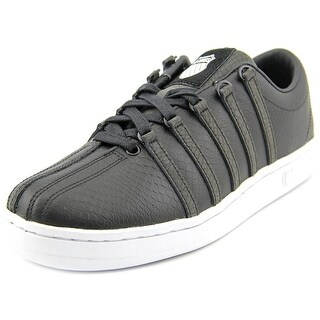 K-Swiss The Classic P Women Round Toe Leather Tennis Shoe