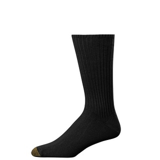 Gold Toe Men's Fluffies Cotton Crew Socks (Pack of 3)