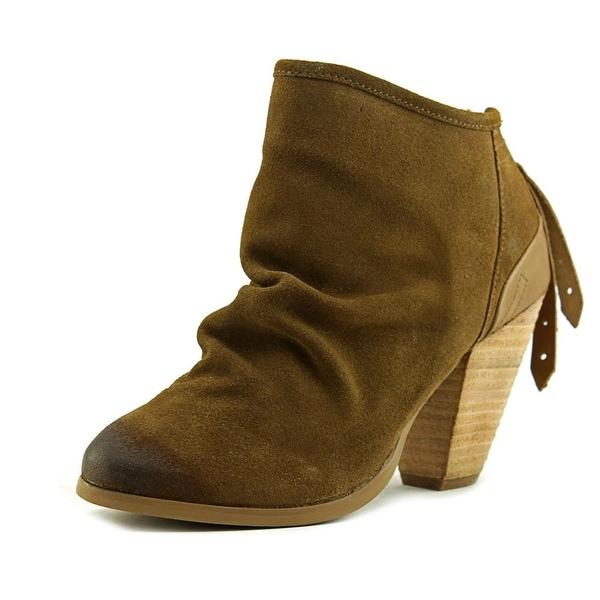 Naughty Monkey Sereena Women Tan Boots