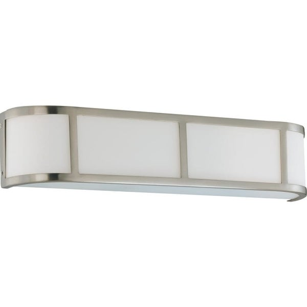 """Nuvo Lighting 60/2873 Three Light Ambient Lighting 23.875"""" Wide Bathroom Fixture from the Odeon Collection"""