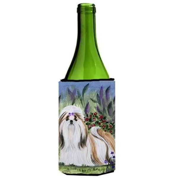 57397928a23d Shop Shih Tzu Wine Bottle Hugger - 24 oz. - Free Shipping On Orders Over   45 - Overstock.com - 25060216