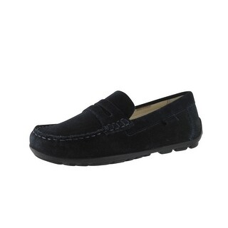 Geox Boys Fast B Loafers-Shoes - Navy Suede